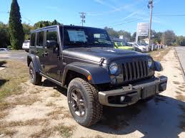 2016 jeep wrangler unlimited sahara 75th anniversary edition in