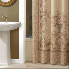 Bathroom Shower Windows by Bathroom Croscill Shower Curtains With Colorful And Cheerful