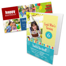 personalized birthday cards and invites with photos winkflash