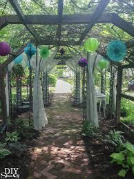 Wedding Ideas For Backyard by Backyard Wedding Ideas Diy Show Off Diy Decorating And Home