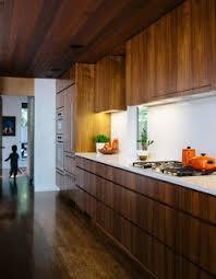 mid century modern walnut kitchen cabinets 25 memorable midcentury modern kitchen renovations dwell