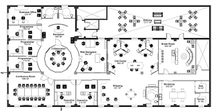 office design plan e with decorating ideas