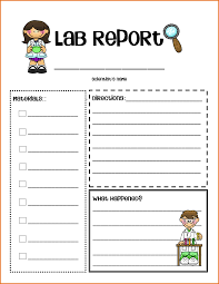 lab report template 6 lab report template word resumes word