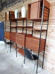 Free Standing Storage Building by Room Divider Freestanding Black Metal Teak Wall Shelving Storage