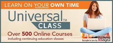 universal online class universal class durham county library