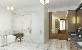 Bathtub In A Shower Ryan Seacrest U0027s 75k A Month Rental In Nyc Cetusnews