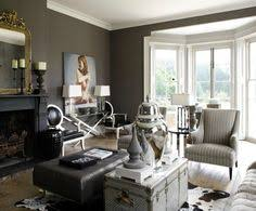 Gray And Gold Living Room by Dark Transitional Living Room By Jane Lockhart This Den Is