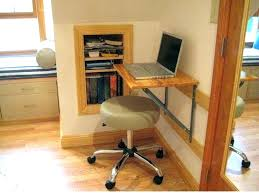 Space Saving Laptop Desk Desk Space Saver Folding White Computer With Storage Interque Co