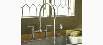 kohler kitchen sink faucets kitchen sink bridge faucet unforgettable bar standard plumbing