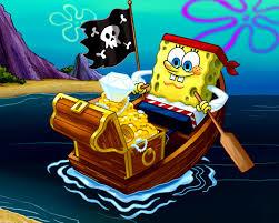 spongebob squarepants pirate wallpaper crafts for kids
