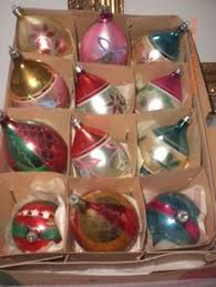 vintage 1950 s tree ornaments