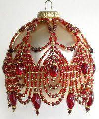 obraz znaleziony dla free beaded ornaments patterns