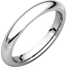 Platinum Comfort Fit Wedding Band Platinum Heavy Comfort Fit Bands My Wedding Band