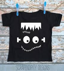 boys halloween shirt kids frankenstein shirt toddler halloween