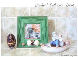 Seashell Bathroom Decor Ideas by Craftionary