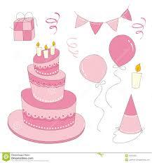 girl birthday birthday girl set stock photo image 30242250