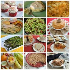 thanksgiving traditional southern dinner menu collage amazing 1024