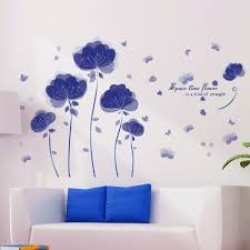 Flower Wall Decals For Nursery by Online Get Cheap Purple Baby Room Aliexpress Com Alibaba Group
