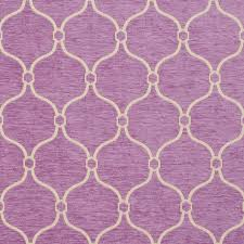 b0830b purple and off white woven trellis chenille upholstery fabric