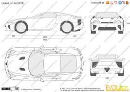 lexus car logo vector the blueprints com vector drawing lexus lf a