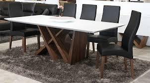 Dining Room Furniture Edmonton Walnut Dining Table Athena Mobler Modern Furniture Edmonton