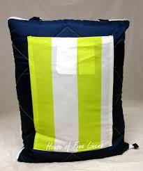 martha stewart collection picnic beach blanket green striped 60