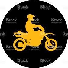 gold motorcycle rider stock vector art 488649048 istock