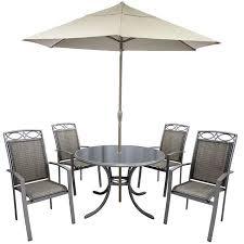 Metal Garden Chairs Hartman Beaumont 4 Seater Round Set Garden Furniture 4 Seater