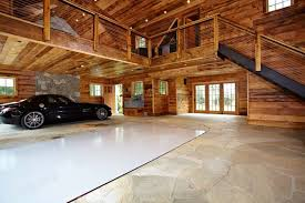 building a loft in garage ultimate man cave and sports car showcase traditional garage