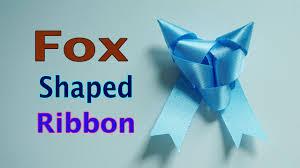 fox ribbon fox ribbon tutorial