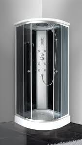 boxs doccia box doccia idromassaggio angolare 80x80 con cromoterapia radio fm