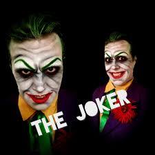 the joker halloween costume for men the joker comic book villain batman halloween makeup
