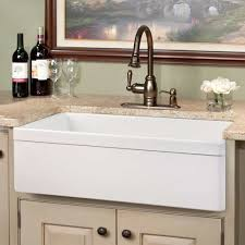 porcelain farmhouse kitchen sink with granite top for elegant