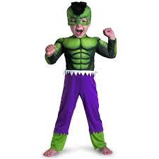 Superhero Halloween Costumes Kids Hulk Costume Toddler Kids Incredible Hulk Superhero