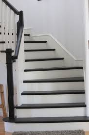 Painting A Banister White Black And White Paint Can Really Add Class And Style To A Boring