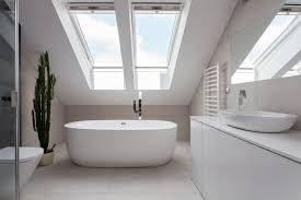 Schlafzimmer Und Badezimmer Kombiniert Badezimmer Unterm Dach