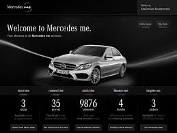 geneva mercedes launches mercedes me service portal