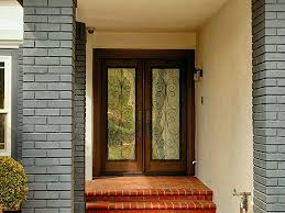 8 Foot Exterior Doors Wooden Front Doors With Glass Awesome Homes Best Wrought Iron