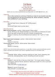 resume samples 2017 full name street address city state zip code