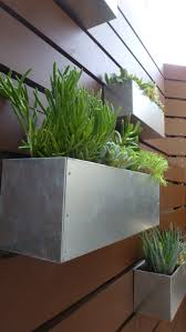 garden wall plants wall mounted wooden boxes living wall planter ideas different