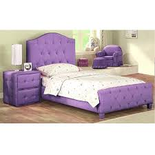 diva upholstered twin bed with solid wood frame purple 199 89