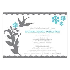 bridal luncheon invites blue gray bridal shower invitation templates do