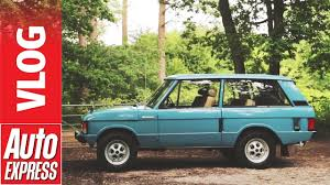 green range rover classic range rover velar we drive the car that inspired the velar name