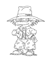 Chuckie Rugrats Neat Coloring Pages Kids G1t Printable
