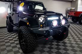 Jeep Wrangler Led Light Bar by Pre Owned 2013 Jeep Wrangler Rubicon Unlimited Hemi Aev Jk 350