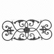 wrought iron ornaments manufacturers suppliers from mainland