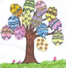 easter egg tree easter egg tree paper craft
