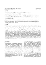 Methods Of Controlling Plant Diseases - biological control of plant diseases the european situation pdf