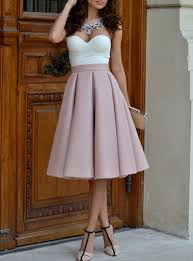pleated skirts pleated skirt midi length high waisted