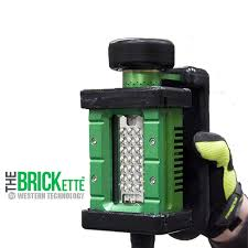 explosion proof led work light the brickette portable explosion proof led work light